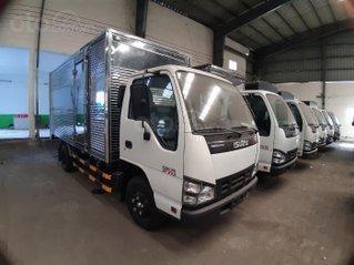 Xe Isuzu thùng kín 2t4, hỗ trợ 100% thuế trước bạ