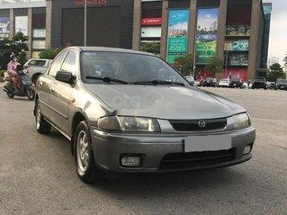 Bán xe Mazda 323 sản xuất năm 1999, màu xám, xe nhập