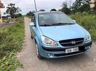 Bán Hyundai Getz 1.1 MT đời 2008, màu xanh lam, xe nhập