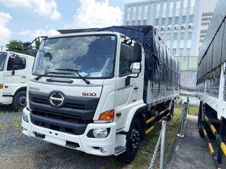 Xe tải Hino 2020 8.4 tấn, thùng mui bạt 7.3m