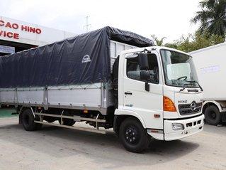 Xe tải Hino 2020 6.5 tấn, mui bạt nhôm 6.7m