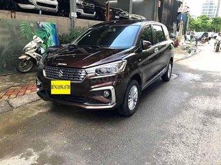 Xe Suzuki Ertiga 1.5 AT 2019, màu nâu, nhập khẩu còn mới
