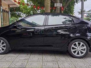 Cần bán lại xe Hyundai Accent đời 2012, màu đen, nhập khẩu