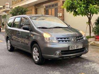 Cần bán Nissan Livina sản xuất năm 2010, màu xám ít sử dụng