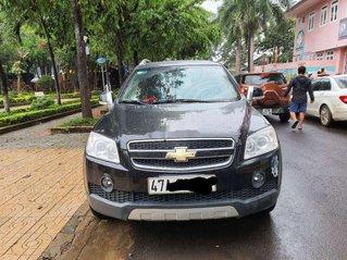 Cần bán gấp Chevrolet Captiva đời 2007, màu đen, nhập khẩu nguyên chiếc