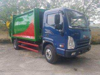 Bán xe cuốn ép rác 10 khối Hyundai EX8, thùng inox 304