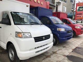 Suzuki Carry Pro sản xuất 2014 và 2015 nhập nguyên chiếc, máy xăng, màu đỏ, màu trắng, nhiều màu