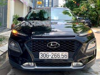 Bán xe Hyundai Kona đời 2018, màu đen