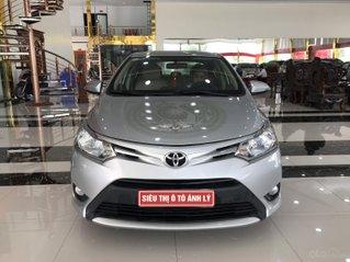 Toyota Vios 1.5E MT 2016, màu bạc