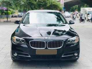 Bán xe BMW 520i model 2015 full options, nhập khẩu nguyên chiếc, màu đen, nội thất kem trẻ trung và sang trọng