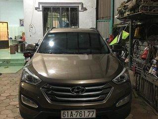 Bán ô tô Hyundai Santa Fe đời 2016, màu nâu, xe nhập