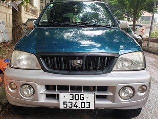 Bán xe Daihatsu Terios năm 2003, nhập khẩu, màu xanh