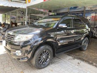 Bán Toyota Fortuner 2.7V sản xuất 2015, màu đen, số tự động, giá 750tr