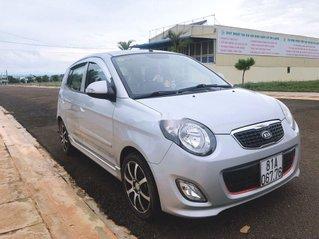 Cần bán lại xe Kia Morning đời 2010, màu bạc, số tự động, 210tr