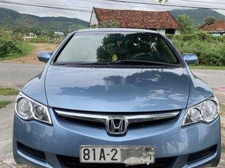 Chính chủ bán Honda Civic đời 2008, màu xanh lam, nhập khẩu