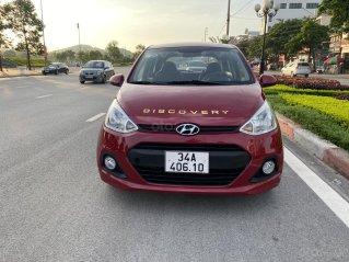Cần bán gấp Hyundai Grand i10 2015, màu đỏ, nhập khẩu nguyên chiếc