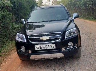 Cần bán xe Chevrolet Captiva sx 2010, số sàn màu đen