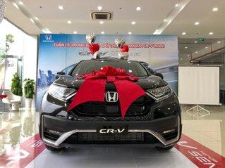 [Honda Vĩnh Phúc] Honda CRV giá cực tốt miền Bắc. Giảm trực tiếp 50 triệu tiền mặt + phụ kiện chính hãng. Hỗ trợ vay 80%