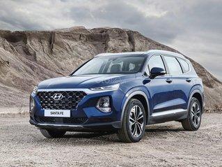 [Siêu khuyến mãi] Hyundai Santa Fe 2020 giảm ngay 50% thuế TB + quà tặng cực kỳ hấp dẫn, trả trước 200 triệu nhận ngay xe