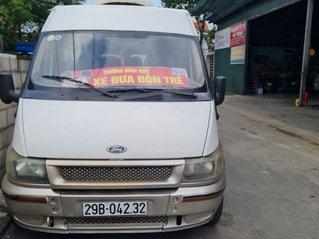 Ford Transit Việt Nam 16 chỗ, máy dầu 9L/100km, đã chạy 180.000km, máy 2.4 xe 4 cửa nội thất ghi