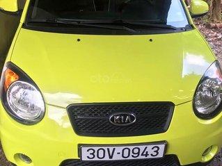 Bán xe Kia Morning SLX 1.0 AT năm 2009, màu vàng, xe nhập
