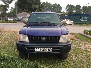Bán Toyota Prado GX sản xuất năm 2000, màu xanh lam, xe nhập