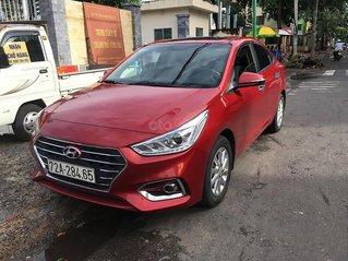 Cần bán xe Hyundai Accent 1.4MT đời 2018, màu đỏ còn mới
