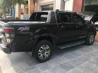 Cần bán lại xe Ford Ranger 3.2 Wildtrak đời 2016, màu đen, nhập khẩu nguyên chiếc còn mới