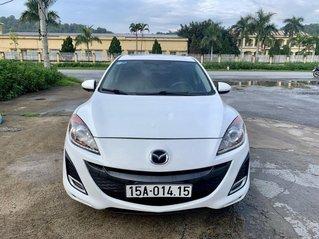 Bán xe Mazda 3 sản xuất 2010, màu trắng, nhập khẩu, 335 triệu