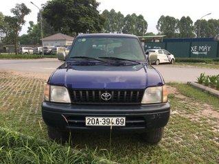 Bán ô tô Toyota Prado đời 2000, màu xanh lam, nhập khẩu nguyên chiếc, giá tốt