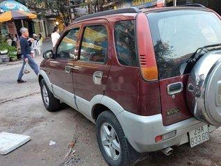 Cần bán lại xe Daihatsu Terios đời 2004, màu đỏ