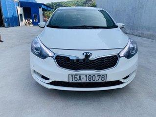 Cần bán Kia K3 sản xuất 2015, màu trắng chính chủ, 459tr