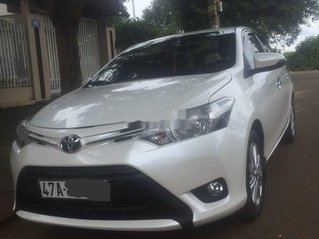 Bán Toyota Vios E đời 2015, màu trắng, nhập khẩu nguyên chiếc chính chủ, giá tốt
