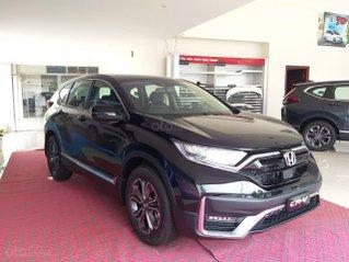Honda Ôtô Thanh Hóa, giao ngay Honda CRV 1.5L, màu đen, giảm 100% phí trước bạ
