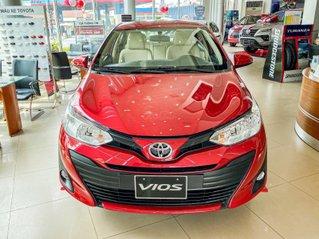 Toyota Vios 1.5E CVT giá tốt, khuyến mãi hấp dẫn, đủ màu giao ngay, hỗ trợ tài chính 85%/8 năm