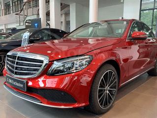 Bán giá ưu đãi chiếc Mercedes C 200 Exclusive sản xuất năm 2020, tặng phụ kiện chính hãng