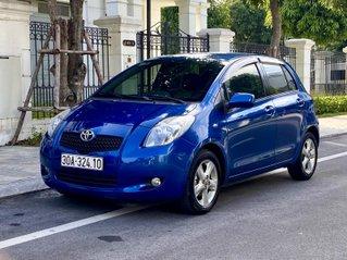 Toyota Yaris nhập nhật số tự động màu xanh