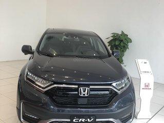 Honda CR-V 2020 hỗ trợ 50% thuế trước bạ, hỗ trợ vay trả góp 80%, tặng phụ kiện bảo hiểm, đủ màu, giao xe nhanh