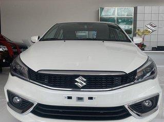 Bán xe Suzuki Ciaz sản xuất năm 2020, màu trắng, nhập khẩu nguyên chiếc, 499tr