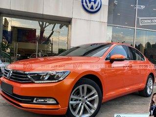 Volkswagen Sedan Passat Bluemotion màu cam nhập khẩu từ Đức - khuyến mãi 177 triệu tiền mặt - giao ngay