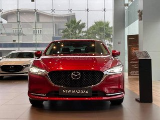 [TPHCM] new Mazda 6 - ưu đãi hơn 50tr - đủ màu - hổ trợ bảo hiểm thân vỏ và phụ kiện - chỉ 245tr