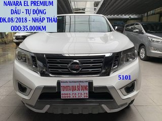 Bán xe Nissan Navara năm sản xuất 2018, màu trắng, xe nhập còn mới