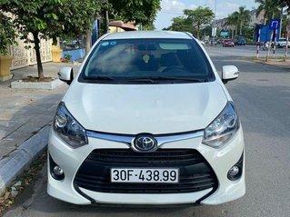 Bán ô tô Toyota Wigo sản xuất năm 2018, màu trắng, nhập khẩu còn mới