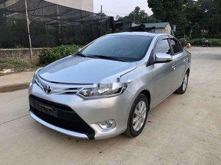Bán Toyota Vios sản xuất 2017, màu bạc số sàn, 375 triệu