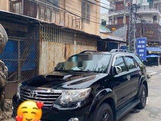 Bán Toyota Fortuner sản xuất 2015, màu đen, số sàn, máy dầu