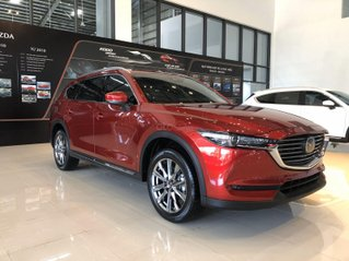 Mazda CX8 - giá chỉ từ 999 triệu - gói phụ kiện chính hãng lên đến 35tr - trả trước 300tr lăn bánh lấy xe ngay