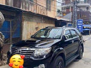 Bán Toyota Fortuner 2.5G đời 2015, màu đen còn mới