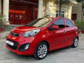 Bán Kia Morning sản xuất 2012, màu đỏ, số tự động, giá 260tr