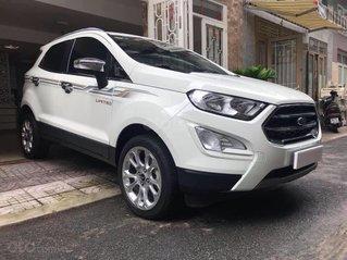 Bán xe Ecosport Titanium 2019, màu trắng