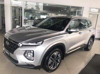 Hyundai Santa Fe đủ màu giảm ngay 50% thuế trước bạ, khuyến mãi thêm tiền mặt + phụ kiện cục tốt, góp lên đến 85%